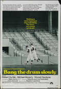 "Movie Posters:Sports, Bang the Drum Slowly (Paramount, 1973). One Sheet (27"" X 41""). Drama. Directed by John Hitchcock. Starring Robert De Niro, M..."