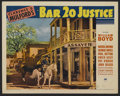 """Movie Posters:Western, Bar 20 Justice (Paramount, 1938). Lobby Cards (2) (11"""" X 14""""). Western. Directed by Lesley Selander. Starring William Boyd, ... (Total: 2 Items)"""
