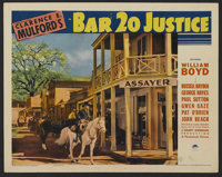"""Bar 20 Justice (Paramount, 1938). Lobby Cards (2) (11"""" X 14""""). Western. Directed by Lesley Selander. Starring..."""
