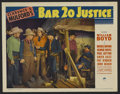 "Movie Posters:Western, Bar 20 Justice (Paramount, 1938). Lobby Card (11"" X 14""). Western. Directed by Lesley Selander. Starring William Boyd, Russe..."