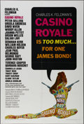 "Movie Posters:Adventure, Casino Royale (Columbia, 1967). One Sheet (27"" X 41""). ComedyAdventure. Directed by John Huston, Ken Hughes, Robert Parrish..."