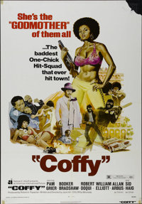 """Coffy (American International Pictures, 1973). One Sheet (27"""" X 41""""). Blaxploitation Directed by Jack Hill. St..."""