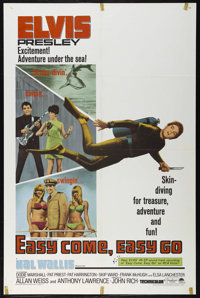 """Easy Come, Easy Go (Paramount, 1967). One Sheet (27"""" X 41""""). Musical Comedy. Directed by John Rich. Starring E..."""
