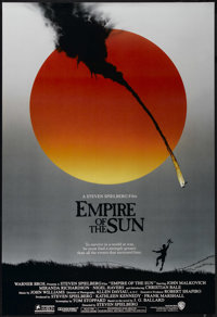 """Empire of the Sun (Warner Brothers, 1987). One Sheet (27"""" X 41""""). War. Directed by Steven Spielberg. Starring..."""