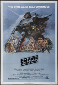 """The Empire Strikes Back (20th Century Fox, 1980). One Sheet (27"""" X 41""""). Style B. Science Fiction. Directed by..."""