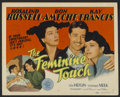 """Movie Posters:Comedy, The Feminine Touch (MGM, 1941). Title Lobby Card (11"""" X 14""""). Romantic Comedy. Directed by W.S. Van Dyke. Starring Rosalind ..."""