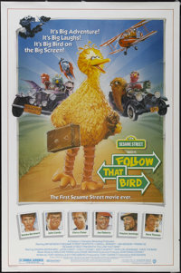 "Follow that Bird (Warner Brothers, 1985). One Sheet (27"" X 41""). Family Comedy. Directed by Ken Kwapis. Starri..."