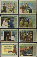 """Movie Posters:Drama, The Glenn Miller Story (Universal International, 1954). Lobby Card Set of 8 (11"""" X 14""""). Musical Biography. Directed by Anth... (Total: 8 Items)"""