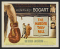 """Movie Posters:Film Noir, The Harder They Fall (Columbia, 1956). Title Lobby Card (11"""" X 14""""). Drama. Directed by Mark Robson. Starring Humphrey Bogar..."""