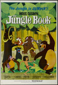 "Movie Posters:Animated, The Jungle Book (Buena Vista, 1967). One Sheet (27"" X 41"")Tri-folded. Family. Directed by Wolfgang Reitherman. StarringPhi..."