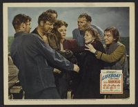 "Lifeboat (20th Century Fox, 1944). Lobby Card (11"" X 14""). Adventure Drama. Directed by Alfred Hitchcock. Star..."