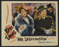 """Movie Posters:Romance, Mr. Skeffington (Warner Brothers, 1944). Lobby Card (11"""" X 14""""). Drama. Directed by Vincent Sherman. Starring Bette Davis an..."""