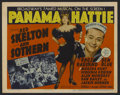 """Movie Posters:Musical, Panama Hattie (MGM, 1942). Title Lobby Card (11"""" X 14"""") and Lobby Card (11"""" X 14""""). Comedy. Directed by Norman Z. McLeod. St... (Total: 2 Items)"""