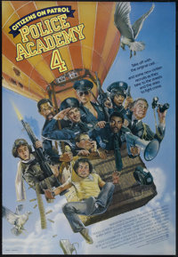 """Police Academy 4: Citizens on Patrol (Warner Brothers, 1987). One Sheet (27"""" X 41""""). Comedy. Directed by Jim D..."""