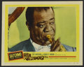"Movie Posters:Musical, Satchmo The Great (United Artists, 1957). Lobby Card (11"" X 14"").Documentary. Produced by Edward R. Murrow and Fred W. Frie..."