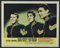 """Movie Posters:Adventure, Sergeants Three (United Artists, 1962). Lobby Card (11"""" X 14"""").Western Comedy. Directed by John Sturges. Starring Frank Sin..."""