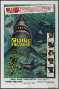 "Movie Posters:Adventure, Sharks' Treasure (United Artists, 1975). One Sheet (27"" X 41"").Adventure. Directed by Cornel Wilde. Starring Cornel Wilde, ..."