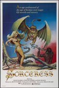 """Movie Posters:Fantasy, Sorceress (New World Pictures, 1982). One Sheet (27"""" X 41"""").Fantasy. Directed by Brian Stuart. Starring Leigh Harris, Lynet..."""