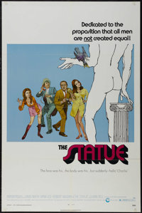 """The Statue (Cinerama Releasing, 1971). One Sheet (27"""" X 41""""). Comedy. Directed by Rodney Amateau. Starring Dav..."""