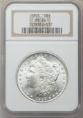 Morgan Dollars, 1893 $1 MS64 NGC....