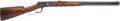 Long Guns:Lever Action, Custom Engraved Winchester Model 1892 Lever Action Rifle. ...
