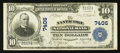 National Bank Notes:Pennsylvania, Nanticoke, PA - $10 1902 Plain Back Fr. 624 The Nanticoke NB Ch. #7406. ...