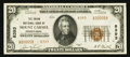National Bank Notes:Pennsylvania, Mount Carmel, PA - $20 1929 Ty. 2 The Union NB Ch. # 8393. ...