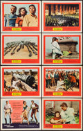 "Movie Posters:Adventure, The Pride and the Passion (United Artists, 1957). Lobby Card Set of8 (11"" X 14""). Adventure.. ... (Total: 8 Items)"