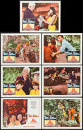 """Movie Posters:Adventure, The Devil at 4 O'Clock (Columbia, 1961). Title Card and Lobby Cards(6) (11"""" X 14"""") and Color Photos (11) (8"""" X 10""""). Advent... (Total:18 Items)"""