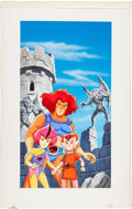 Original Comic Art:Covers, Thundercats: Tower of Traps VHS Cover Original Art(Universal Studios, 1989)....