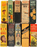 Big Little Book:Miscellaneous, Big Little Book Air Pilot Related Group (Whitman, 1930s) Condition:Average FN/VF.... (Total: 10 Comic Books)