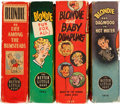 Big Little Book:Miscellaneous, Big Little Book Blondie Group (Whitman, 1930s) Condition: AverageVF.... (Total: 4 Comic Books)