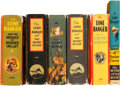 Big Little Book:Miscellaneous, Big Little Book Lone Ranger Group (Whitman, 1930s) Condition:Average FN.... (Total: 6 Comic Books)