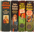 Big Little Book:Miscellaneous, Big Little Book Little Orphan Annie Group (Whitman, 1930s)Condition: Average VF.... (Total: 4 Comic Books)