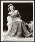 "Movie Posters:Miscellaneous, Simone Simon (RKO, 1941). Autographed Photo (8"" X 10"").Miscellaneous.. ..."