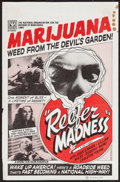"Movie Posters:Exploitation, Reefer Madness (Roninfilm, R-1972). Mini Poster (11"" X 17"").Exploitation.. ..."