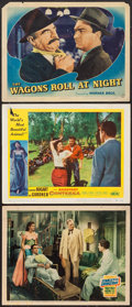 """Movie Posters:Adventure, Stanley and Livingstone & Others Lot (20th Century Fox, 1939).Lobby Cards (3) (11"""" X 14""""). Adventure.. ... (Total: 3 Items)"""