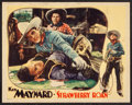 "Movie Posters:Western, Strawberry Roan (Universal, 1933). Lobby Card (11"" X 14""). Western.. ..."