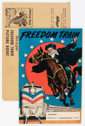 Golden Age (1938-1955):Non-Fiction, Freedom Train #nn with Mailing Envelope (Street & Smith, 1948)Condition: FN+.... (Total: 2 Items)