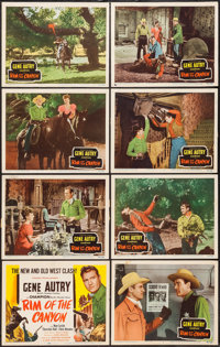 "Rim of the Canyon (Columbia, 1949). Lobby Card Set of 8 (11"" X 14""). Western. ... (Total: 8 Items)"