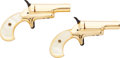Handguns:Derringer, Palm, Cased Pair of Colt Lady Derringers.... (Total: 2 Items)