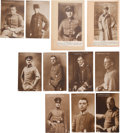 Military & Patriotic:WWI, Group of 11 NPG Real Photo Postcards of WWI German Aviators....(Total: 11 Items)