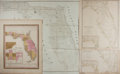 Books:Maps & Atlases, Four 19th Century Maps of Florida. Including two identical examples, one published by Chapman & Hall, 1834; the other by Cha...