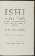 Books:Biography & Memoir, Theodora Kroeber. Ishi in Two Worlds. Derrydale Press, 1994.Limited to 1250 copies, this copy unnumbered. Publisher...