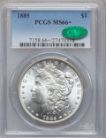 Morgan Dollars, 1885 $1 MS66+ PCGS. CAC....