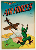 Golden Age (1938-1955):War, The American Air Forces #1 (Wm. H. Wise & Co., 1944) Condition:FN-....