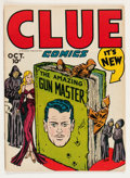 Golden Age (1938-1955):Crime, Clue Comics #10 (Hillman Publications, 1946) Condition: FN/VF....