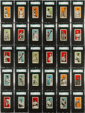 "Baseball Cards:Sets, 1910 E98 ""Set of 30"" Baseball SGC-Graded Complete Set (30). ..."
