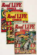 Golden Age (1938-1955):Non-Fiction, Real Life Comics Group (Nedor Publications, 1945-48) Condition:Average FN+.... (Total: 10 Comic Books)