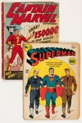 Golden Age (1938-1955):Miscellaneous, Miscellaneous Golden Age Comics Group (Various Publishers, 1941-42).... (Total: 2 Comic Books)